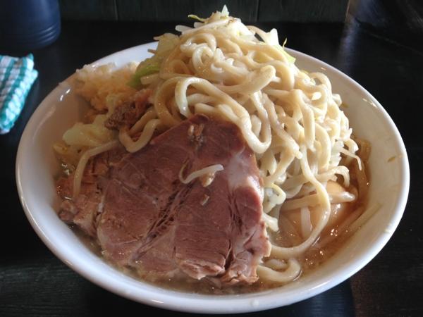 踊ろうサンダーバード(岩手県盛岡市) 塩二型並 麺