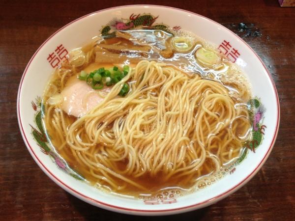 らぁめんサンド(岩手県盛岡市) 純煮干しそば 麺