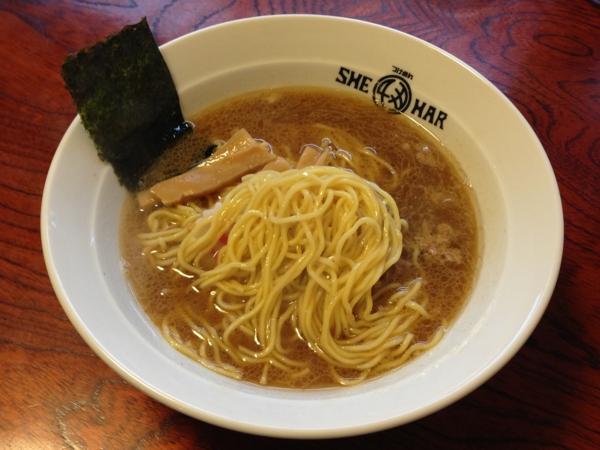 つけめんSHE-HAR 中華そば 麺
