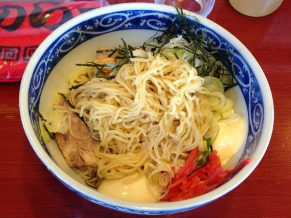 麺屋十郎兵衛 冷やし中華(7月限定) 麺
