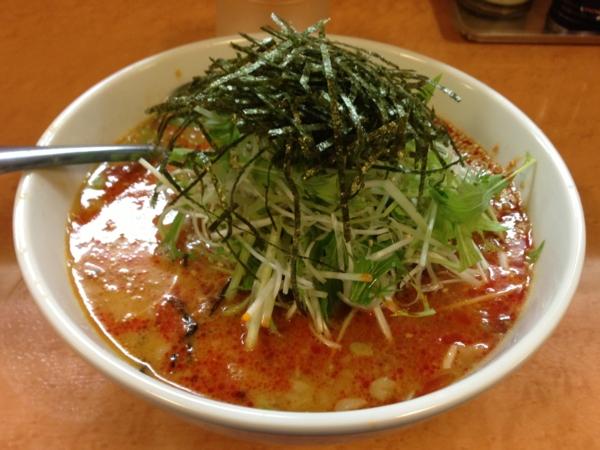 麺や天鳳 白ゴマ担々麺