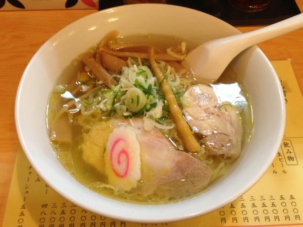 ジャンプラーメン 塩麺