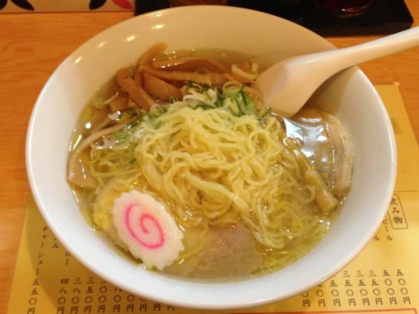 ジャンプラーメン 塩麺 麺