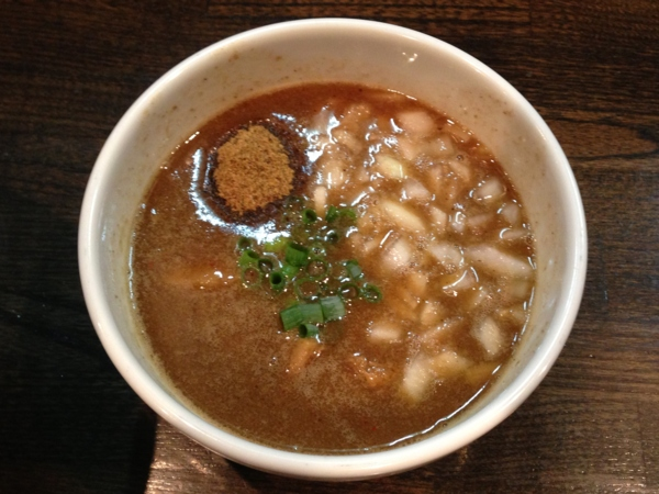 RAMEN MOSH つけめんW玉ねぎ増し スープ