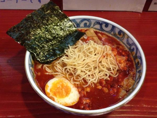 麺屋十郎兵衛 spicy鰹そば 麺