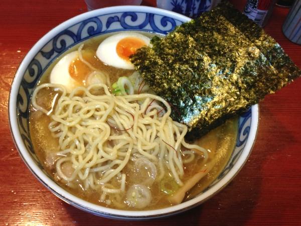 麺屋十郎兵衛  塩らーめん(濃厚) 麺