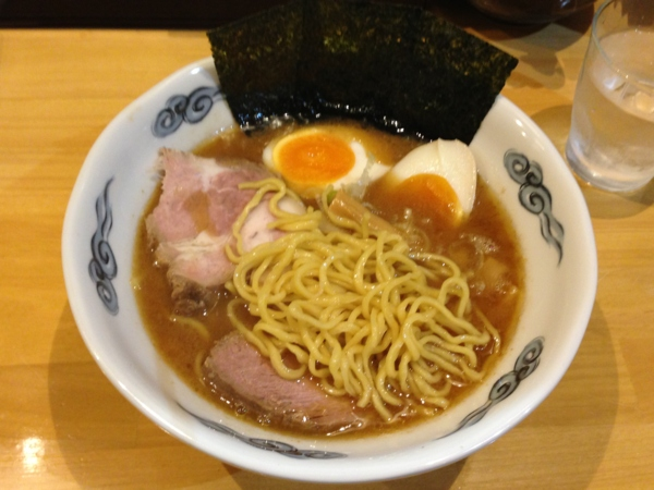麺屋史  特製らーめん 麺