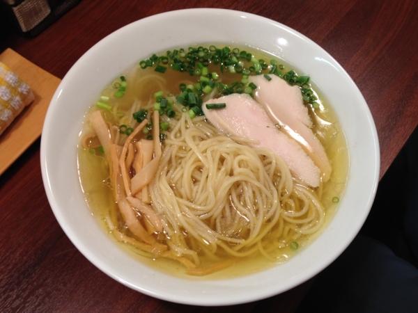 麺屋満開  黄金の鶏そば 麺