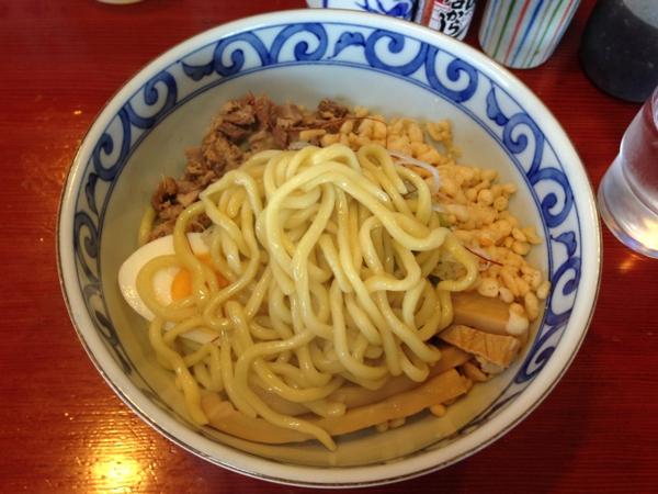 麺屋十郎兵衛 油そば 麺