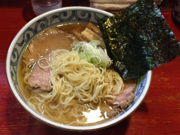 麺屋十郎兵衛 肉出汁中華そば 麺
