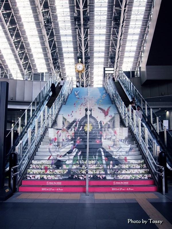 大阪駅トリックアート大階段