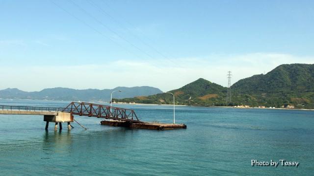 小さな桟橋