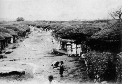 1888年の京城(ソウル)500