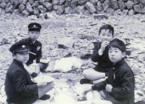 安倍首相 子供時代
