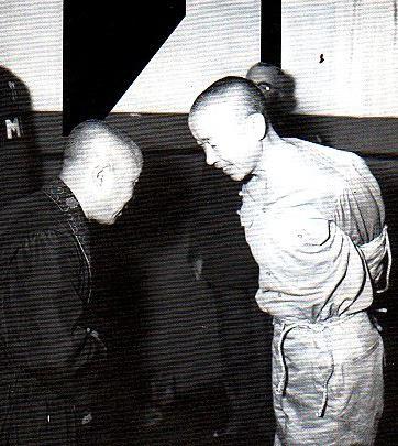 鏑木正隆少将 4 22 1945 処刑直前