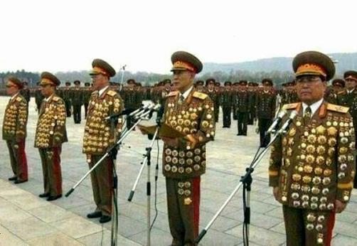 北朝鮮 お笑い勲章
