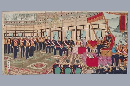 明治憲法発布2