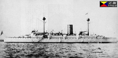 巡洋艦高千穂 排水量3709トン