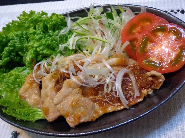 豚の生姜焼き01