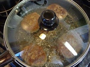 ハンバーグステーキ14