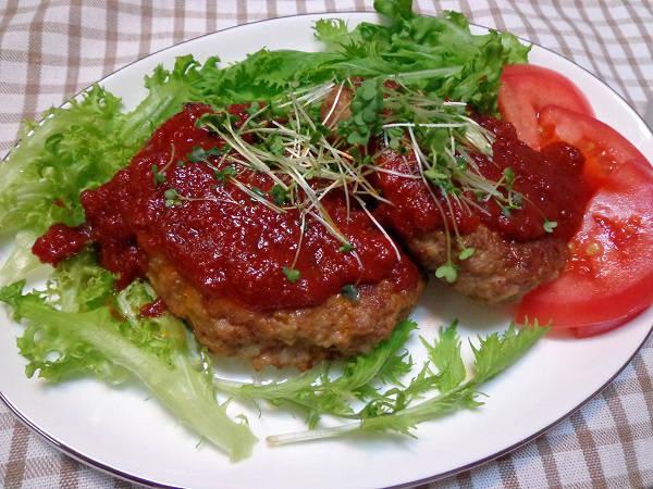 ハンバーグステーキ01