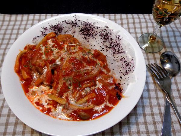 スパイシーハンバーグ トマトソース煮込み11