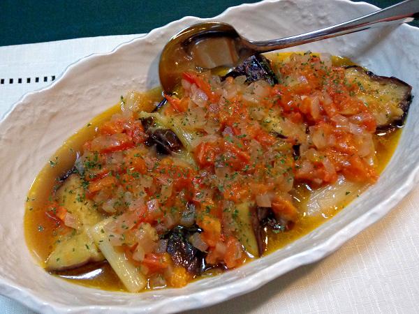 茄子のオリーブオイル蒸し煮01