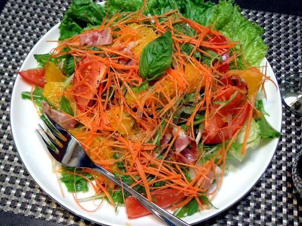 オレンジとトマトの涼感美人サラダ01
