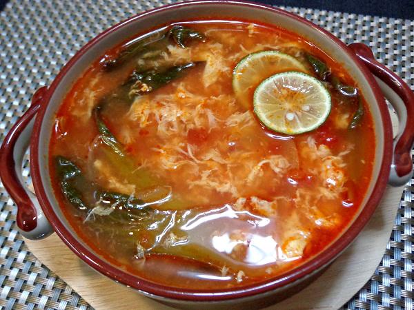 トマトスープ 溶き卵仕立て001
