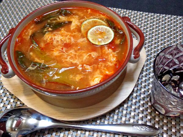 トマトスープ 溶き卵仕立て011