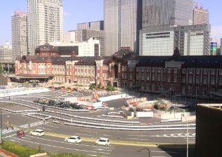 1412004527451 東京駅前景