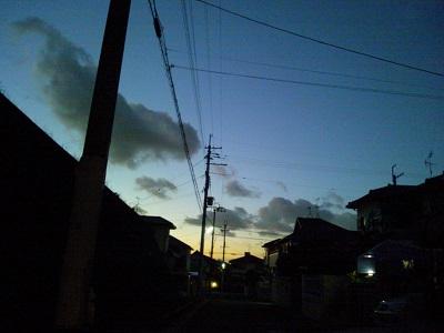 街の灯り♪