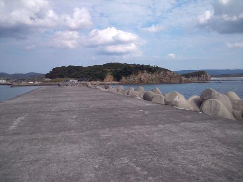 福島港(テトラ)