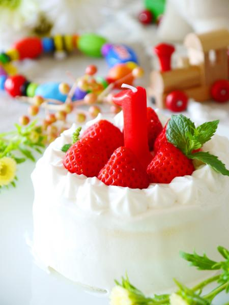 20130821誕生日ケーキ