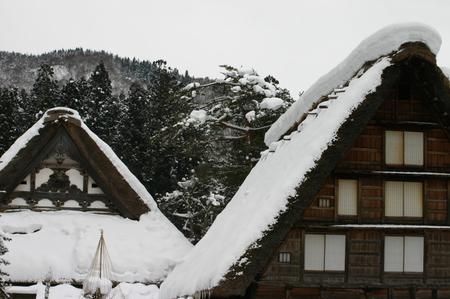 冬の空気の澄んだ時は星空もキレイ! 眼下に一面に広がる~世界遺産 白川郷~冬の風景はこの時期ならでは・・・ ⑨