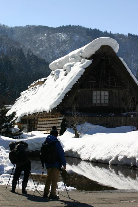 世界遺産 白川郷・五箇山の合掌造り集落ライトアップ2014を見に行こう~1月25(土)・26日(日) ⑧