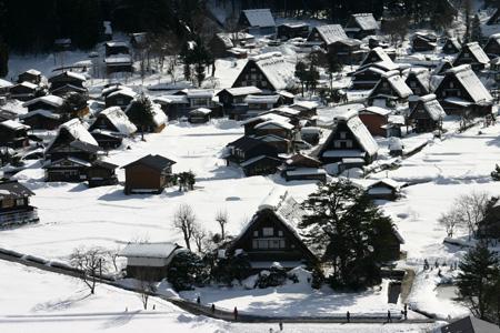 雪国の風情を愉しむには、冬の旅がおすすめ!!世界遺産 白川郷合掌集落 ⑤