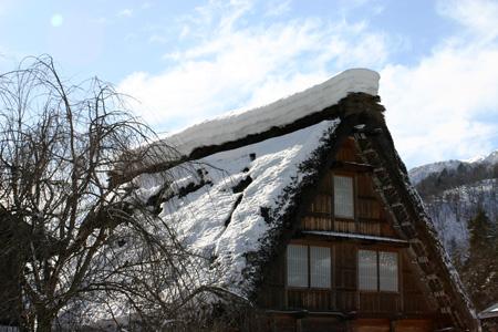 雪国の風情を愉しむには、冬の旅がおすすめ!!世界遺産 白川郷合掌集落 ⑥