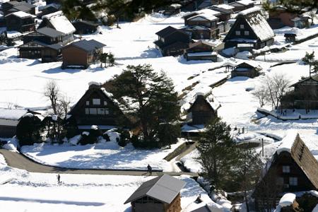 冬の景色、冬だから感じることができる温かさ~世界遺産・白川郷~冬ならではの魅力を探す旅!③