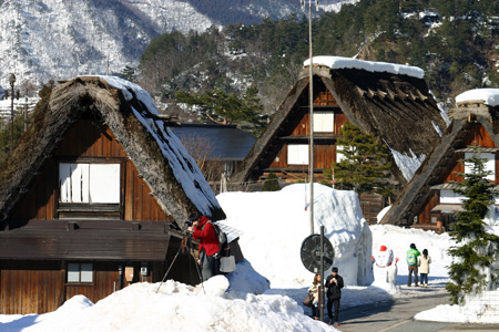 冬の景色、冬だから感じることができる温かさ~世界遺産・白川郷~冬ならではの魅力を探す旅!⑥