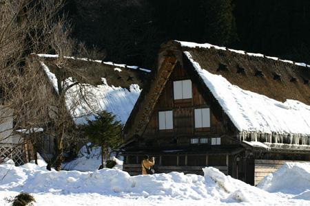 冬の景色、冬だから感じることができる温かさ~世界遺産・白川郷~冬ならではの魅力を探す旅!⑧