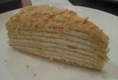 トボーラクのケーキ