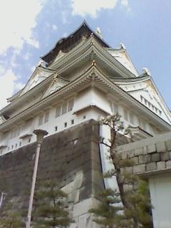 大阪城です。