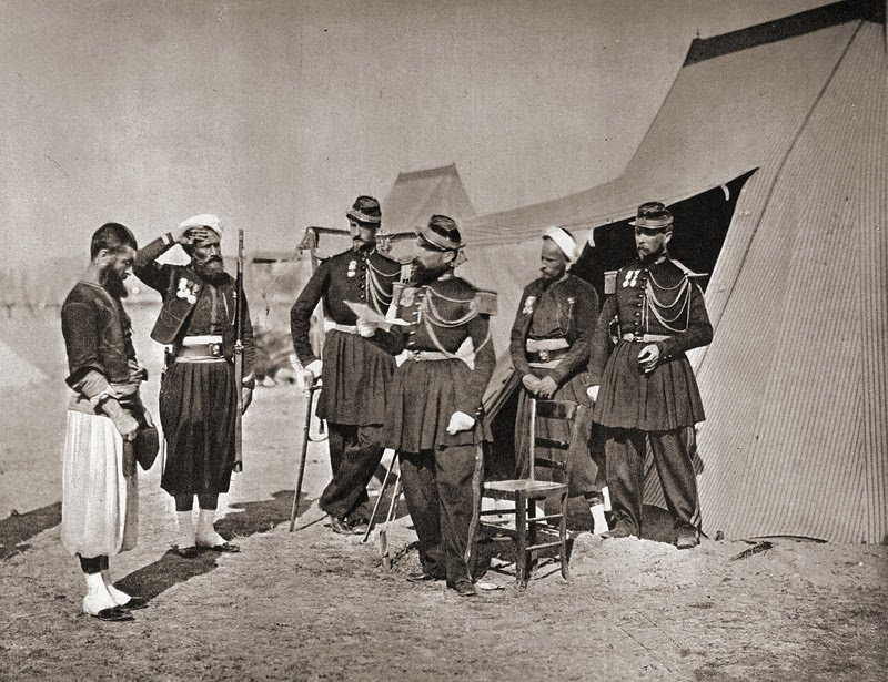 Crimean War 1855 punishment