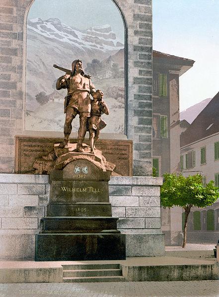 441px-Wilhelm_Tell_Denkmal_Altdorf_um_1900.jpg