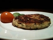 ズッキーニとチーズのお焼き