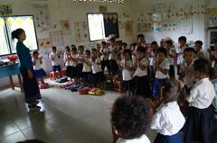ロカーカオピー小学校建設ブログ3