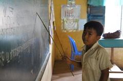 ロカーカオピー小学校建設ブログ2