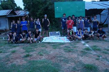CUEサッカー大会シハヌーク学校1