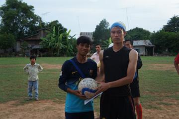 CUEサッカー大会シハヌーク学校3